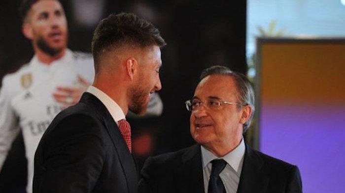 RESMI, Setelah 16 Tahun Mengabdi, Sergio Ramos Hengkang dari Real Madrid, Hari Ini Perpisahannya