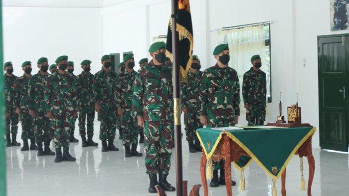 Pergantian Komandan Yonif 125/Si'mbisa, Letkol Budianto Hamdani Gantikan Letkol Inf Ajuanda Pardosi