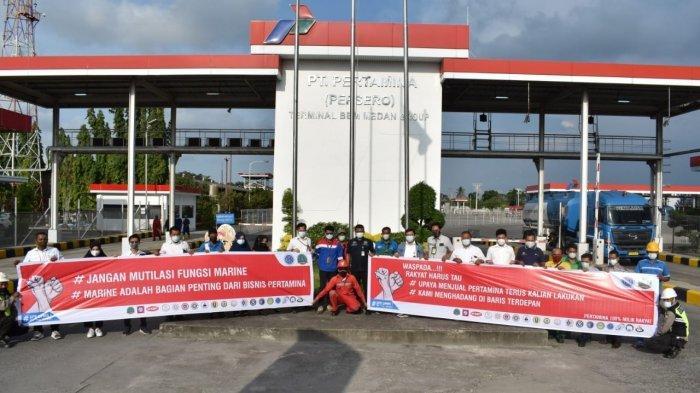 Serikat Pekerja Pertamina UPms I Tolak Subholding Shipping, Sebut Miliki Fokus Bisnis yang Berbeda