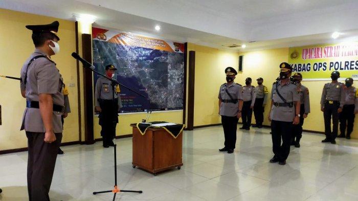 Kompol Maruli SitanggangResmi Menjabat Kabag Ops Polres Samosir