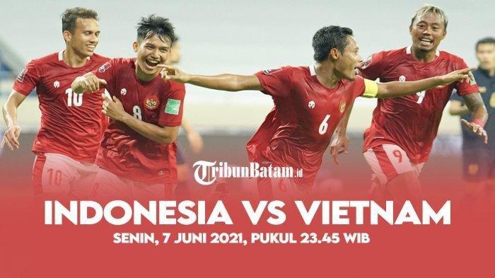 SEDANG BERLANGSUNG Live Streaming Timnas Indonesia vs Vietnam, Insiden Shin Tae-yong dan Egy Maulana