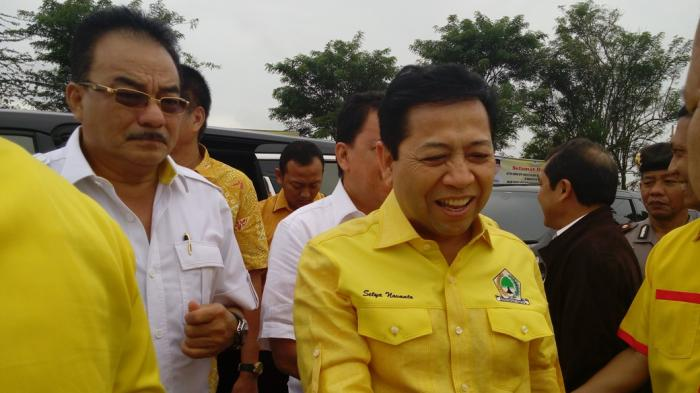 Setya Novanto: Total Rp 5 Miliar Sumbangan untuk Pengungsi Sinabung