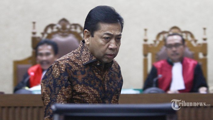 Terpidana Setya Novanto Belum Bayar Uang Pengganti, KPK Menagih