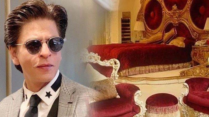 Shah Rukh Khan dan kamar tidur rumahnya