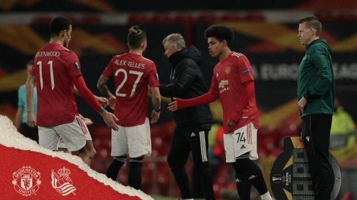 Wonderkid Manchester United Ukir Rekor di Liga Europa, Solskjaer Puji Shola Shoretire