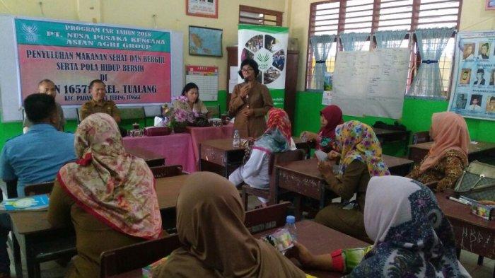 Pentingnya Makanan Sehat di Sekolah, Asian Agri Beri Fasilitas Kantin