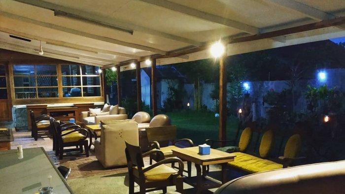 SiantarNature, salah satu rumah kopi dan teh terbaik di Kota Pematangsiantar, Sabtu (18/9/2021)