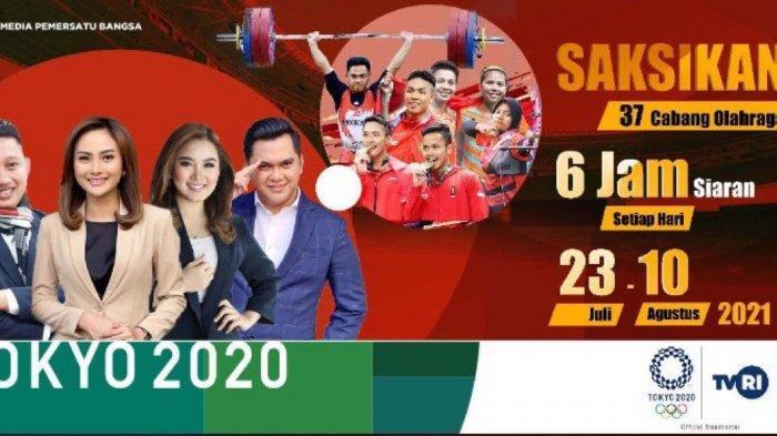 JAM Tayang & Link Streaming Pembukaan Olimpiade Tokyo 2021 Hari Ini, Live TVRI