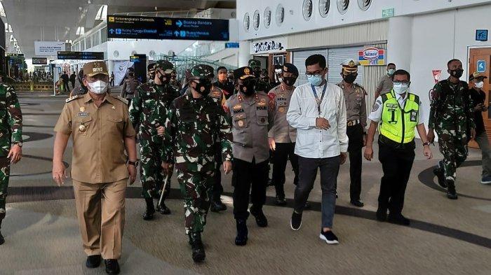 Pastikan Warga Negara India Tak Masuk ke Sumut, Kapoldasu dan Pangdam I/BB Sidak Bandara Kualanamu