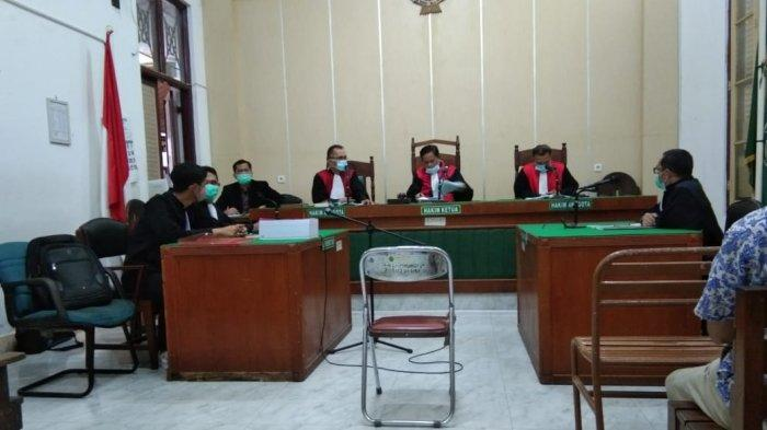 Update Kasus Korupsi TPA Dokan, Eks Kadis Kebersihan Karo Jalani Sidang Dakwaan Secara Daring