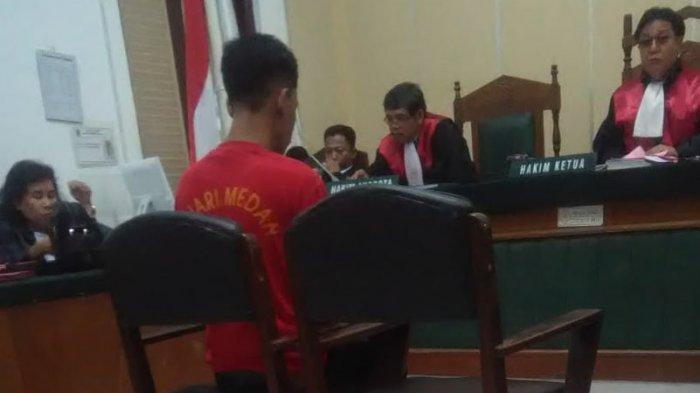 Tommy Alexander Menangis Dengar Vonis Hakim 8 Tahun 8 Bulan