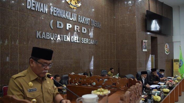 Pemkab Deli Serdang Harap DPRD Segera Bahas dan Sahkan Tiga Raperda Baru