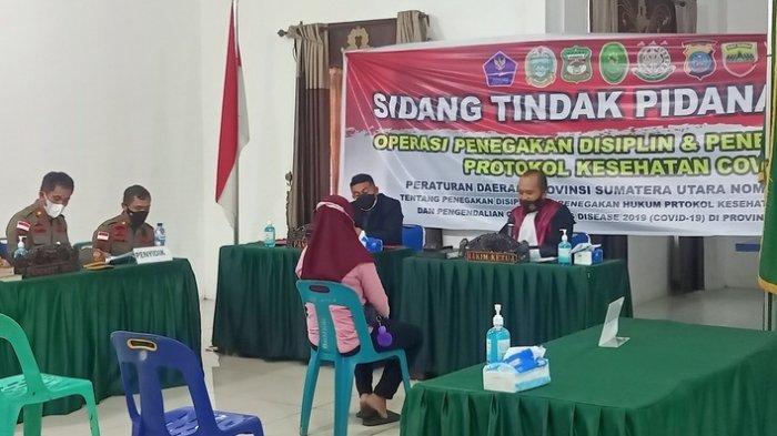 Siantar Berubah Jadi PPKM Level 3, Pelanggar Prokes Tetap Disidangkan 21 September