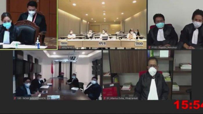 Jelang Putusan MK Terkait Hasil Pilkada Samosir, Begini Tanggapan Kubu Vandiko Gultom dan Rapidin