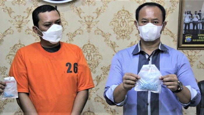 Bebas Februari Lalu, Residivis Kurir Ekstasi Ditangkap Lagi Bersama Barbuk 200 Butir
