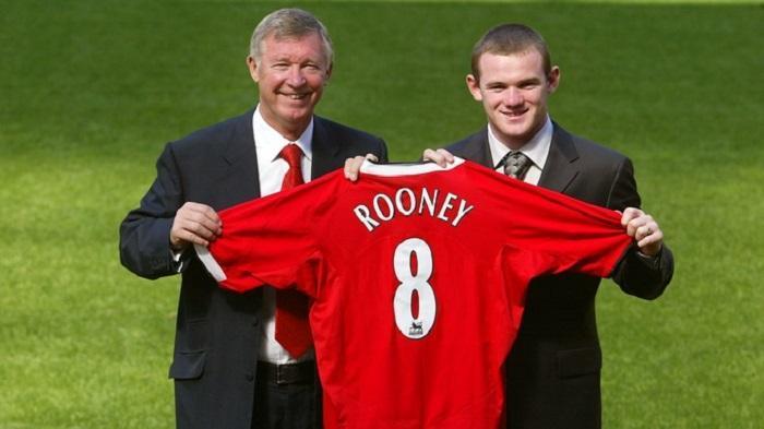 Sir Alex Ferguson dan Wayne Rooney