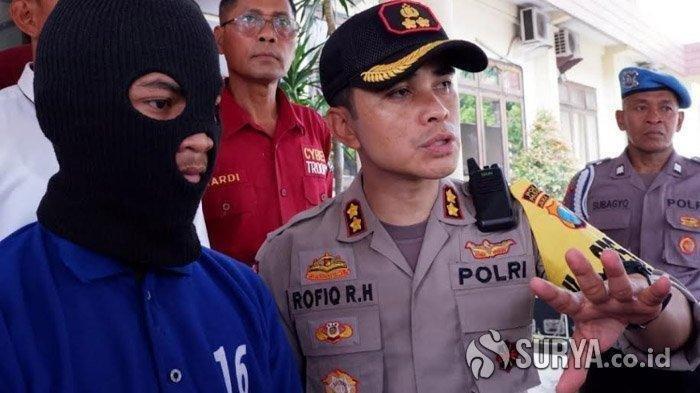 KRONOLOGI Siswa SMK Tikam Mati Pemerkosa Ibunya, Diawali Pelaku Pakai Penutup Muka, Kapolres . . .