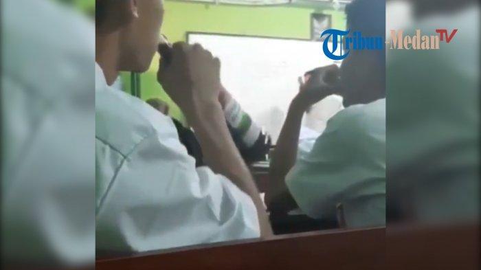 Siswa Konsumsi Minuman Keras (Miras) saat Guru Mengajar, VIDEONYA VIRAL