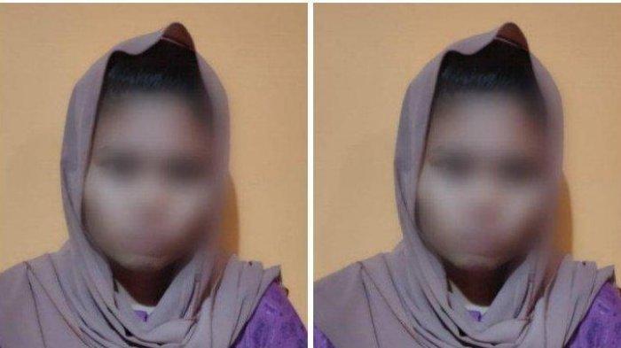 A (20), pelaku pembuangan bayi di Desa Beringin Kencana, Kecamatan Tabunganen, Kabupaten Barito Kuala, Sabtu (29/5/2021) lalu.