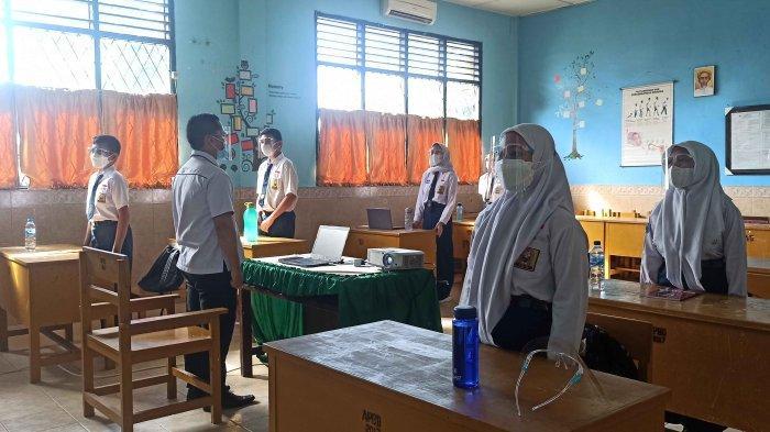 Belum Ada Surat Dinas Pendidikan, Sekolah di Medan Masih Gelar Belajar Daring