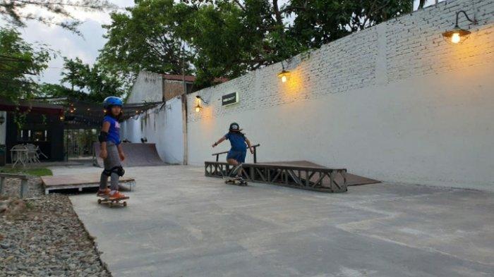 Skatepark anak pertama di Medan