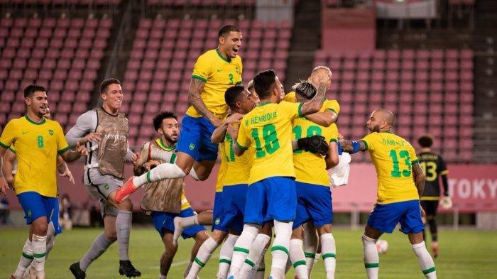 LIVE TVRI, Final Brasil Vs Spanyol Malam Ini, Dani Alves Cs Siap Harumkan Nama Bangsa