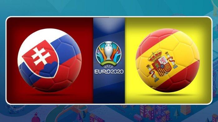 SEDANG BERLANGSUNG Slovakia Vs Spanyol, Akses Di Sini Nonton Live Streaming Gratis dari HP