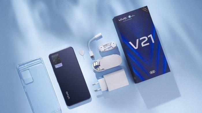 HP VIVO TERBARU: Keunggulan Vivo V21 5G Dilengkapi Fitur OIS di Kamera Depan Keren untuk Selfie