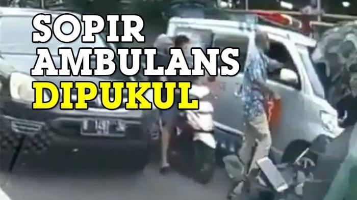 Polisi Tindak Lanjut Aksi Viral Pengemudi yang Menoyor Sopir Ambulan yang sedang Boyong Jenazah
