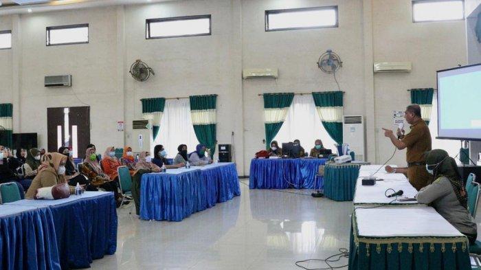 Tekan Angka Penyebaran Covid-19, Kecamatan Medan Johor Gencar Lakukan Upaya Preventif
