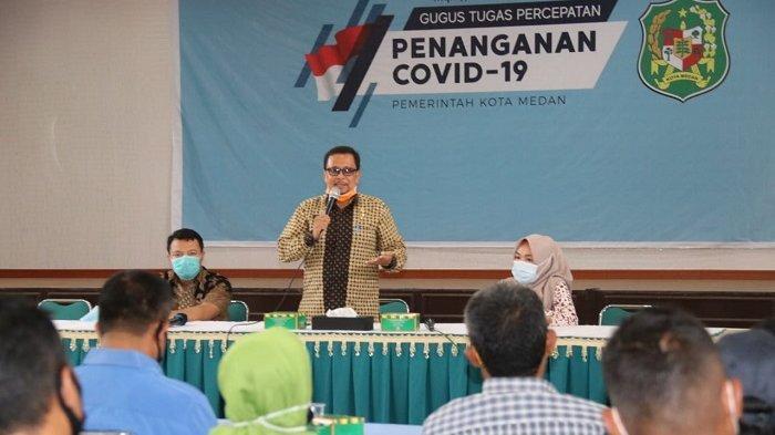 BPBD Kota Medan Ajak Kepling Lebih Aktif Sosialisasikan Perwal Nomor 27 Tahun 2020