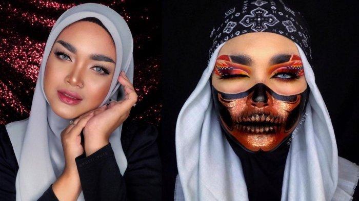 SOSOK Anria Putti Raesina, Terkenal Sebagai Creator Makeup Karakter Extreme di Sumut