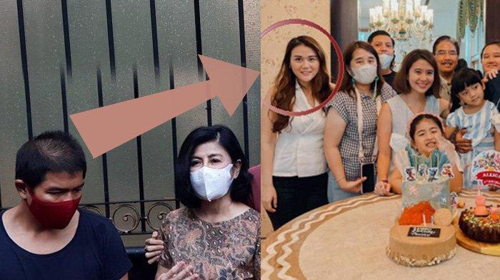 VIRAL Penampakan Mimik Wajah Istri Bams, Mikhavita Wijaya, saat Kumpul Keluarga Hotma Sitompul