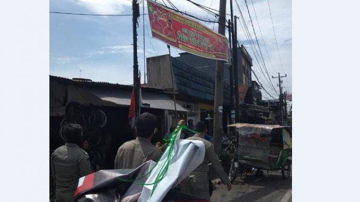 Rusak Estetika Kota Medan, Warga Diperingatkan Jangan Pasang Spanduk di Sembarang Tempat