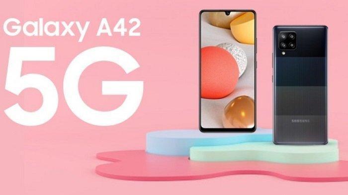 Spesifikasi dan Harga Samsung A42, Smartphone 5G Murah dengan 4 Kamera