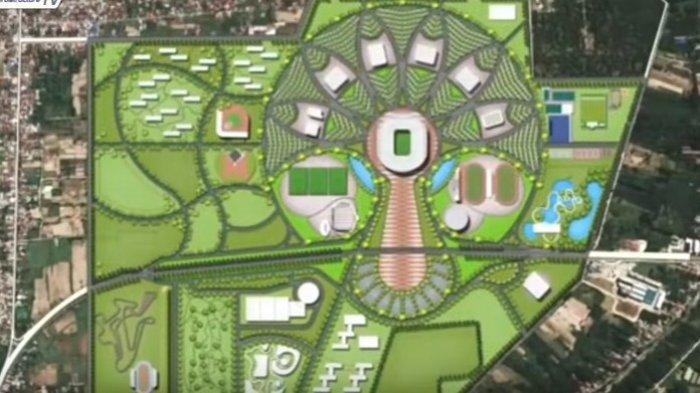 Sport Centre Sumut Senilai Rp7,8 Triliun di Batangkuis Mulai Dibangun Februari