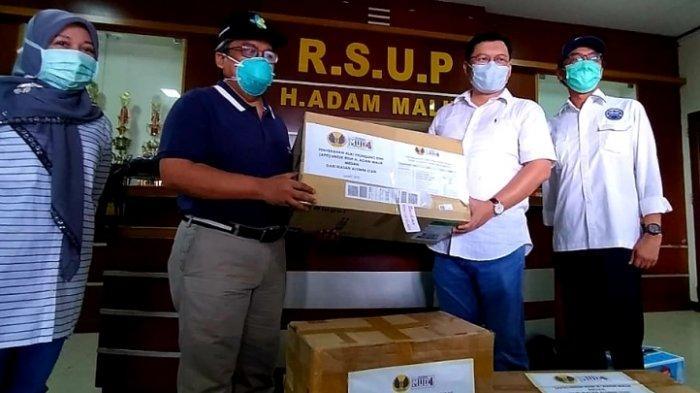 Lawan Corona, Ikatan Alumni STAN Bantu Alat Pelindung Diri Untuk RS Adam Malik Medan