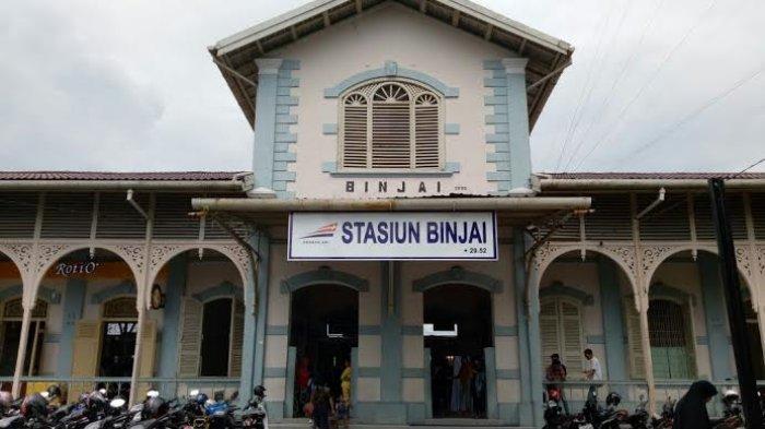 Stasiun Kereta Api Binjai, Gedung Bersejarah yang Tetap Pertahankan Arsitektur Bangunan