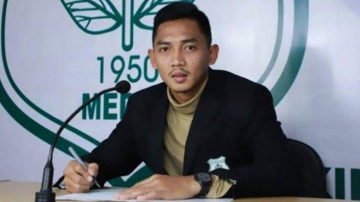 Stoper PSMS Medan Afiful Huda. (Tribun-medan.com/HO)