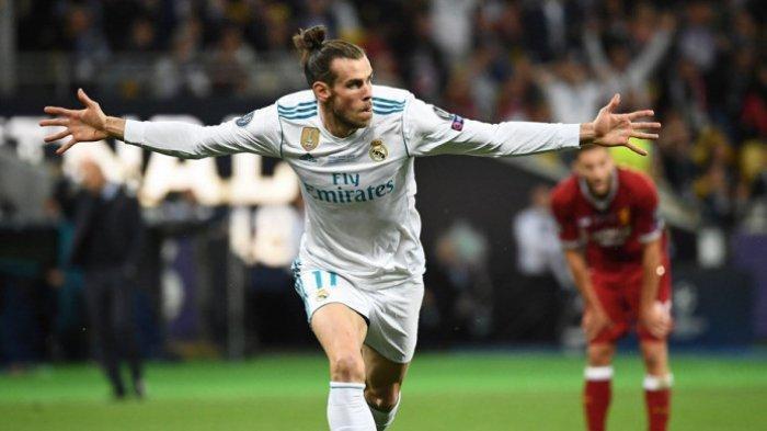 Striker Real Madrid Gareth Bale