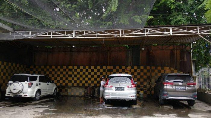 Doorsmer dan Salon Mobil di Berkah Auto Service