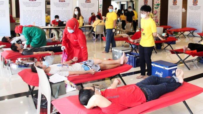 Persaudaraan Muda-Mudi Vihara Borobudur (PMVB) Kembali Adakan Donor Darah Amal I Tahun 2021
