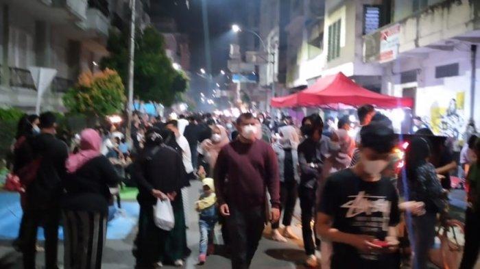 Polemik Kerumunan di Kesawan City Walk Kota Medan, Satgas Covid-19: Gimana Mau Kita Bilang?
