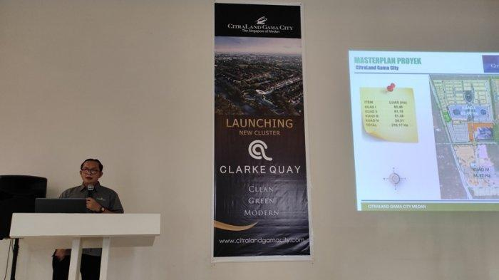 CitraLand Gama City Launching Cluster Clarke Quay, Usung Konsep The Singapore Of Medan
