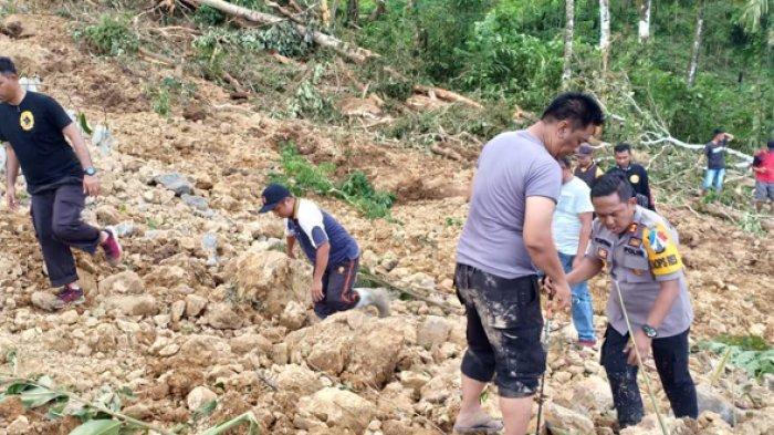 Korban Longsor Nias Selatan Kembali Ditemukan, Terkubur pada Kedalaman Setengah Meter