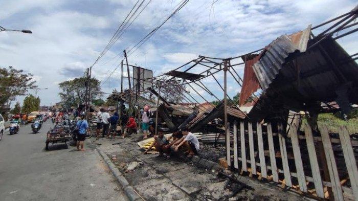 MUASAL Kebakaran di Padang Bulan yang Ludeskan Delapan Warung, Sejam Ditinggal Pemilik Warung Tuak