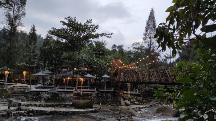 Suasana wisata Villa Mari Pro Sembahe