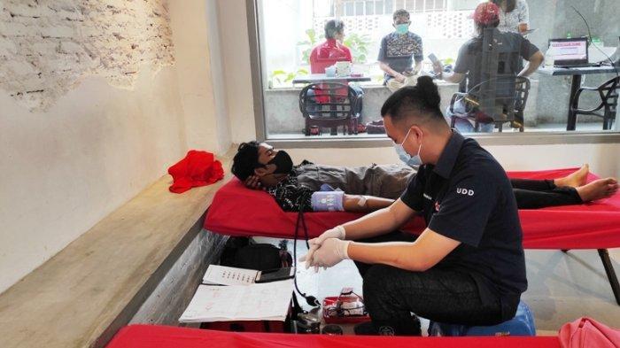 Ingin Lebih Bermanfaat, Sukku Coffe and Space Gelar Donor Darah di Hari Kesaktian Pancasila