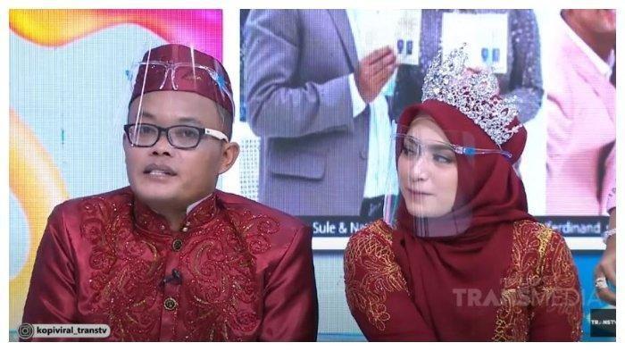 Sule dan Nathalie Holscher klarifikasi rencana Raffi Ahmad yang akan biayai tiket bulan madu mereka, Selasa (17/11/2020). (Capture YouTube Trans TV Official)