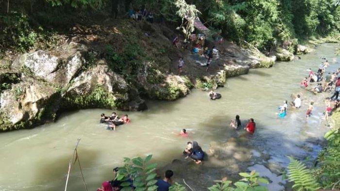 Sungai Bahapung ini kian digandrungi oleh masyarakat setempat.